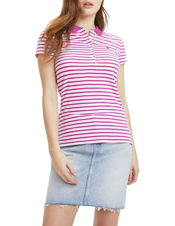 New Chiara Stretch Pique Polo Short Sleeve image 1