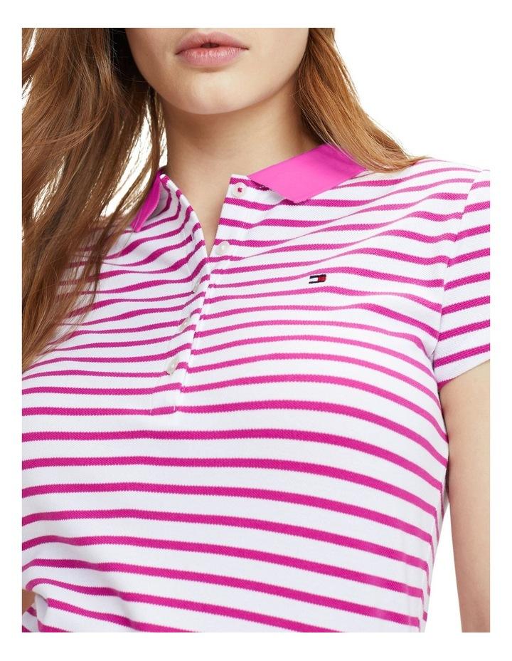 New Chiara Stretch Pique Polo Short Sleeve image 3
