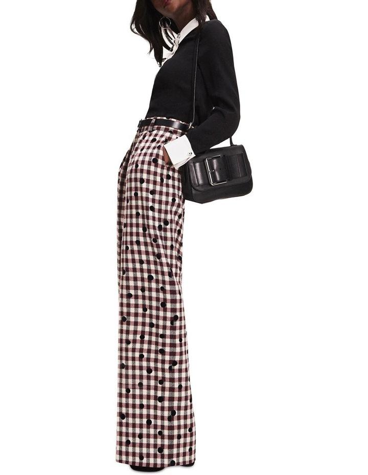 Zendaya Contrast Collar Blouse image 5