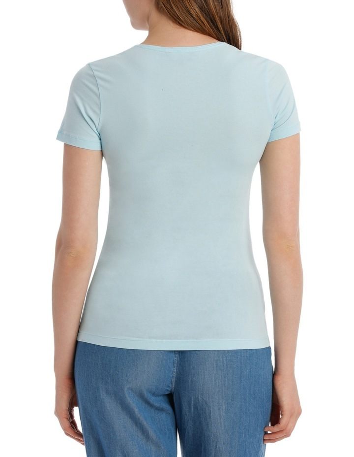 Lizzy V-Neck Tee Shirt image 3