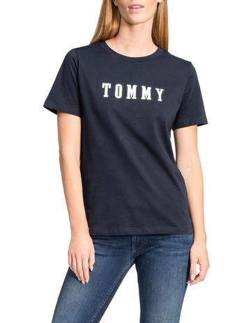 afa4909cdcc Tommy HilfigerHolli C-Nk Tee Short Sleeve. Tommy Hilfiger Holli C-Nk Tee  Short Sleeve
