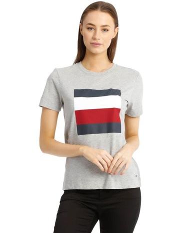 22dd33da134369 Tommy HilfigerCathy Crew Neck Short Sleeve T-Shirt. Tommy Hilfiger Cathy  Crew Neck Short Sleeve T-Shirt