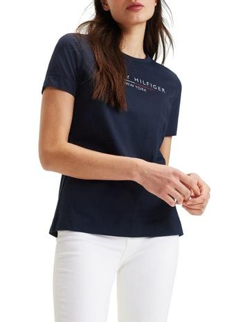 a172a0f9b Tommy HilfigerChrista Crew Neck Short Sleeve T-Shirt. Tommy Hilfiger  Christa Crew Neck Short Sleeve T-Shirt