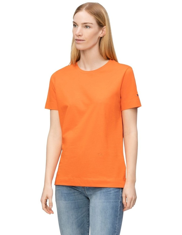 Essential Relaxed Crew Neck Short Sleeve T-Shirt image 1