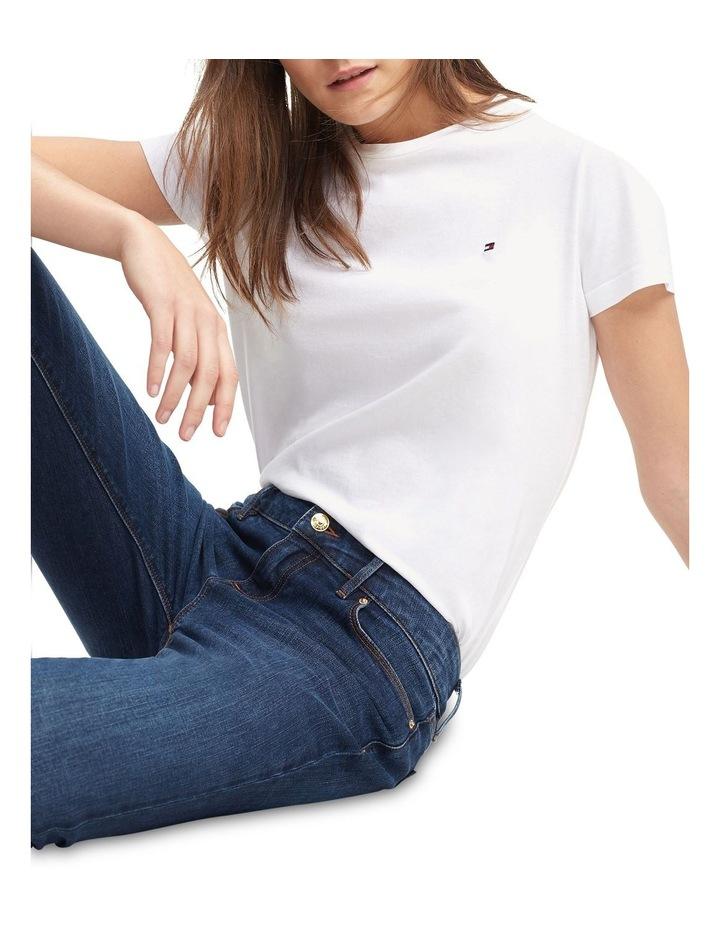 Heritage Crew Neck T-Shirt  Classic White image 3
