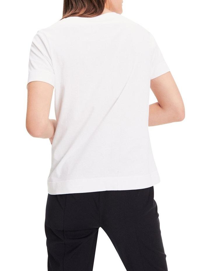 Contrast Logo Organic Cotton T-Shirt image 2