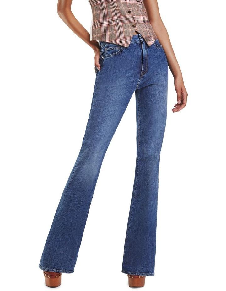Zendaya High Waist Bootcut Jeans image 1