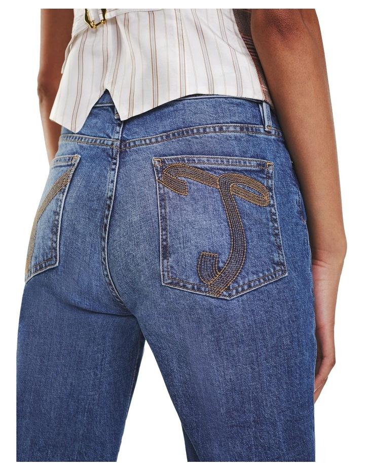 Zendaya High Waist Bootcut Jeans image 3