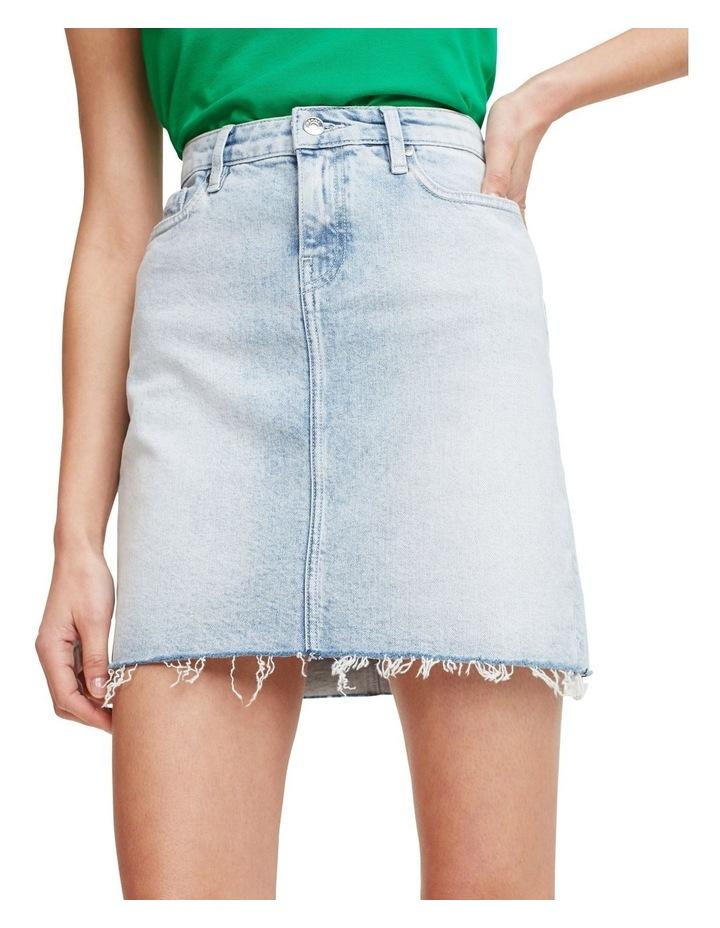 Rome Raw-Edge Skirt image 1