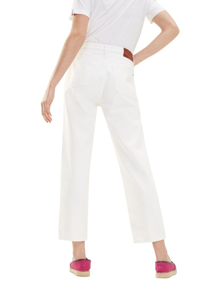 Classic Straight High Waisted Cropped Jean image 2