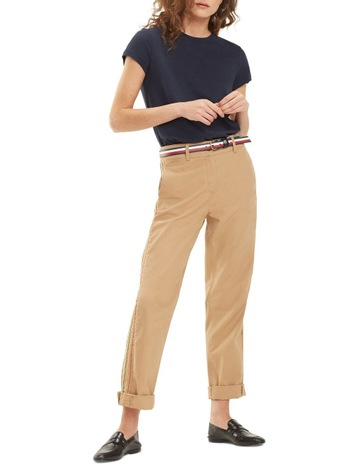 4e60497e5a Tommy HilfigerRecycled Cotton Twill Chinos. Tommy Hilfiger Recycled Cotton  Twill Chinos