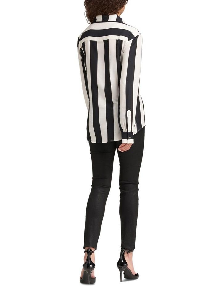 Foundation - Long Sleeve Collar Btn Thru Top With Step Hem image 3