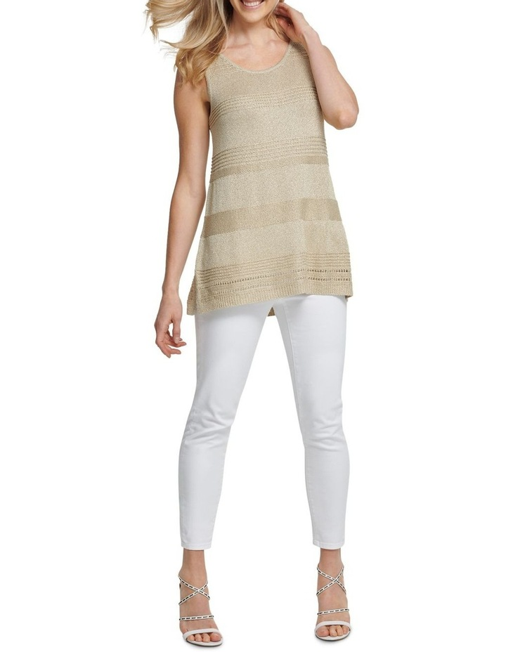 Sleeveless Lurex Pullover image 1