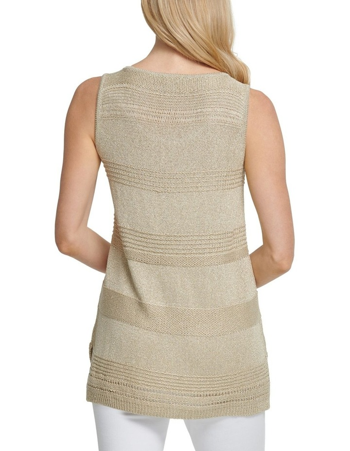 Sleeveless Lurex Pullover image 2