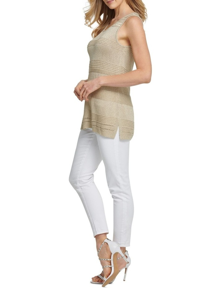 Sleeveless Lurex Pullover image 3