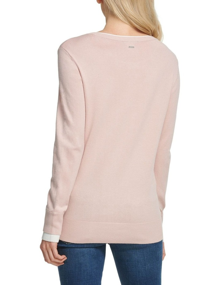 Long Sleeve Crew with Layered Cuff image 4