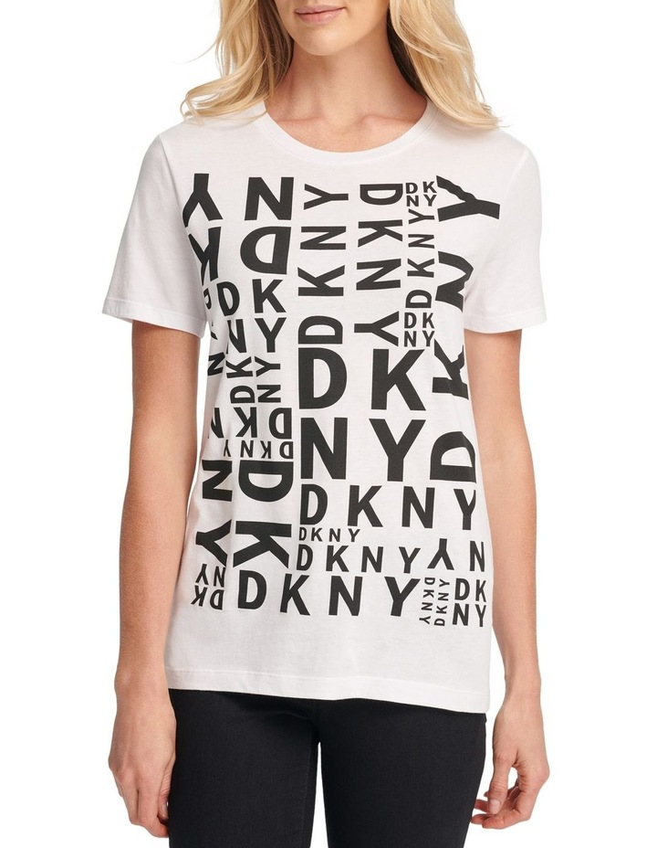 Mixed Dkny Logo T-Shirt image 2
