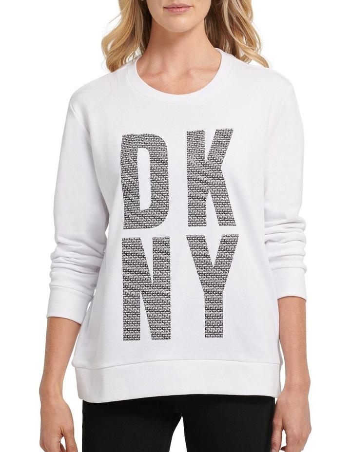 Exploded 'Nyc' Logo Sweatshirt image 2