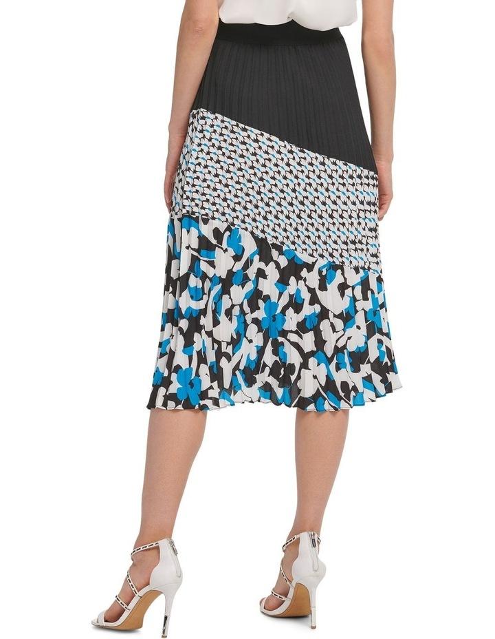 Pleated Colorblock Skirt image 2