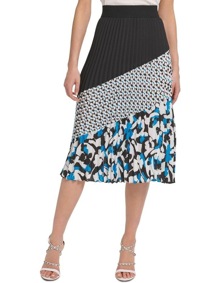 Pleated Colorblock Skirt image 3