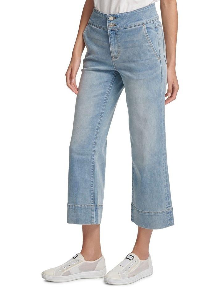Wide Leg Denim Pant image 2
