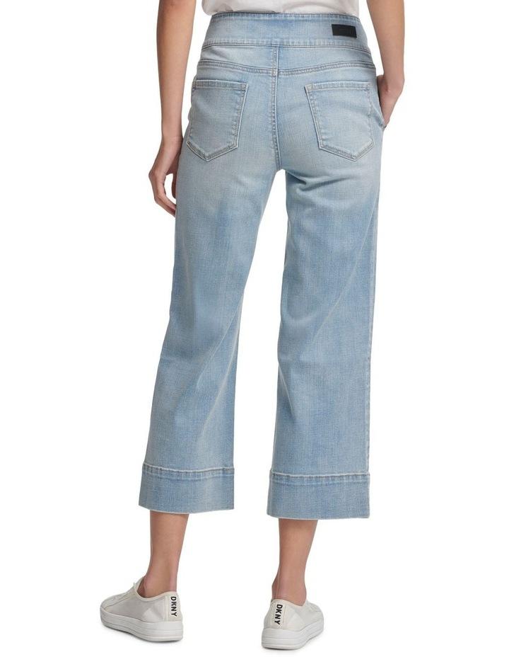 Wide Leg Denim Pant image 3
