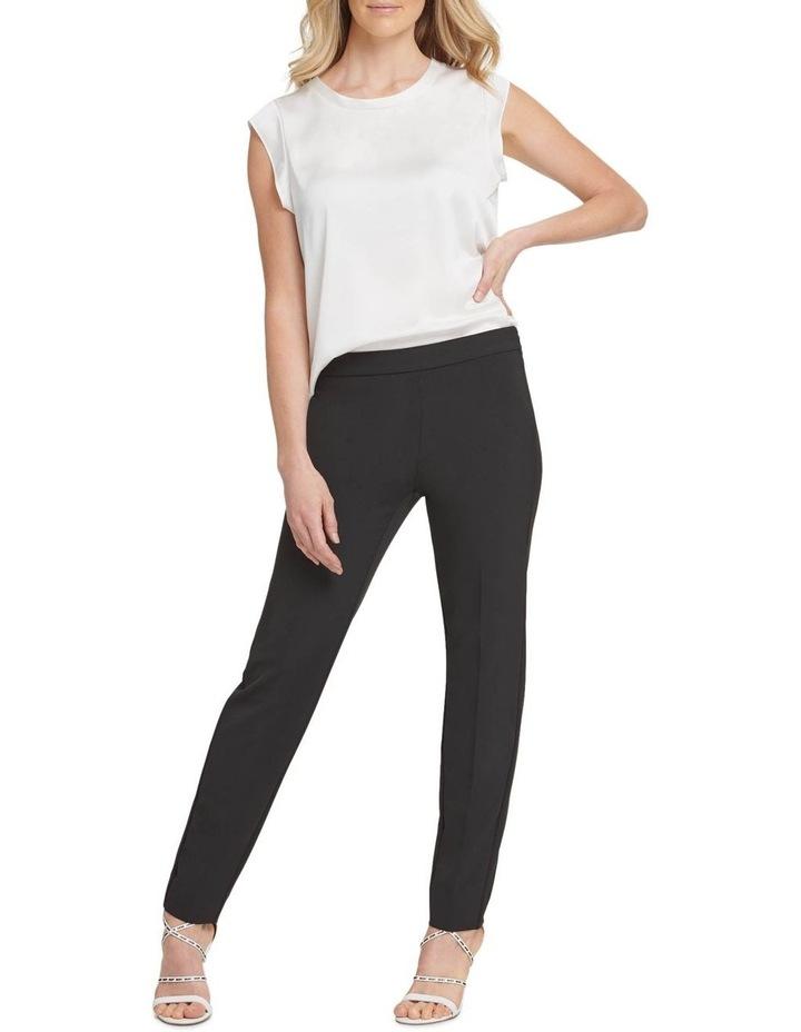 Straight Leg Side Zip Pant image 1