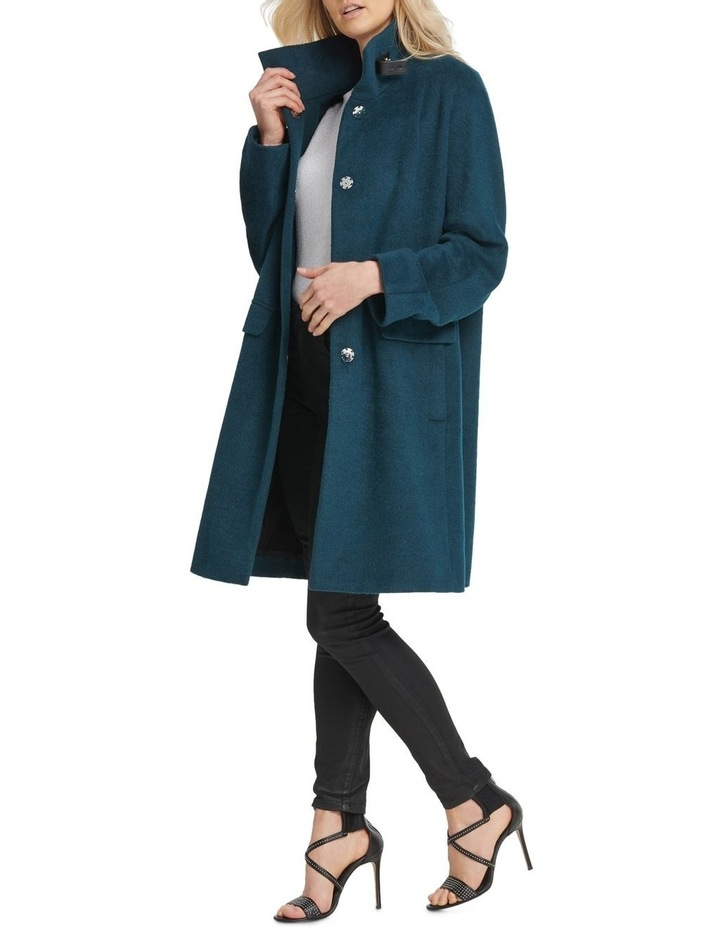 Two Button Coat With Buckle Detail image 1