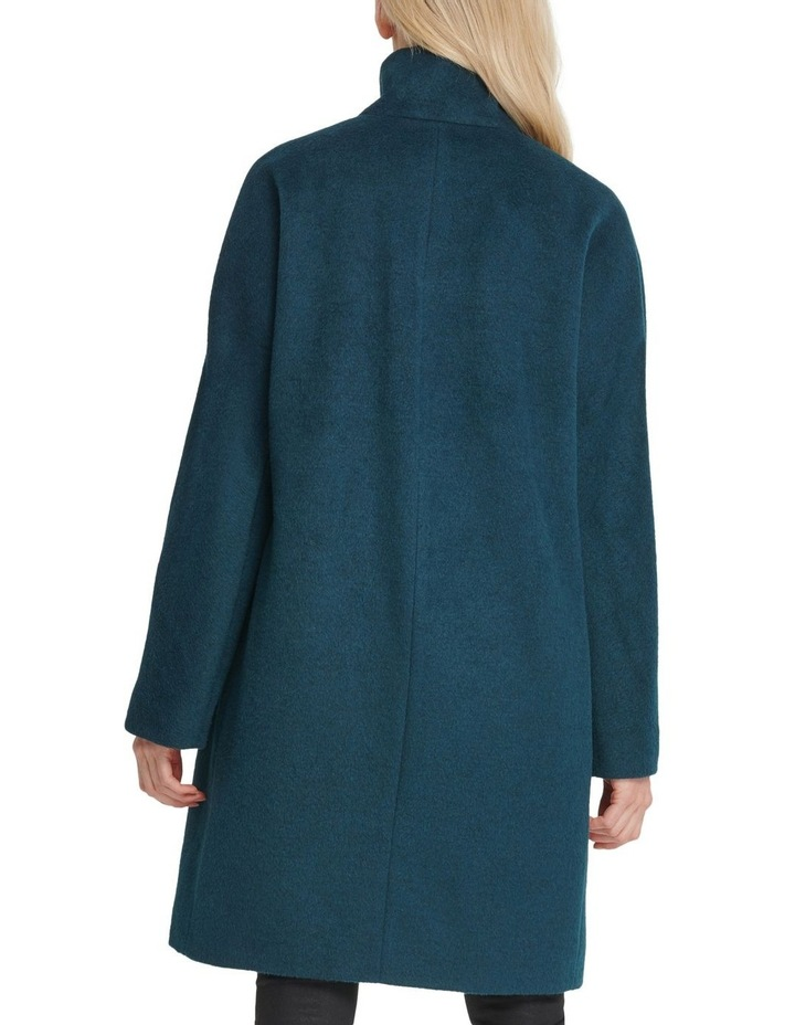 Two Button Coat With Buckle Detail image 3