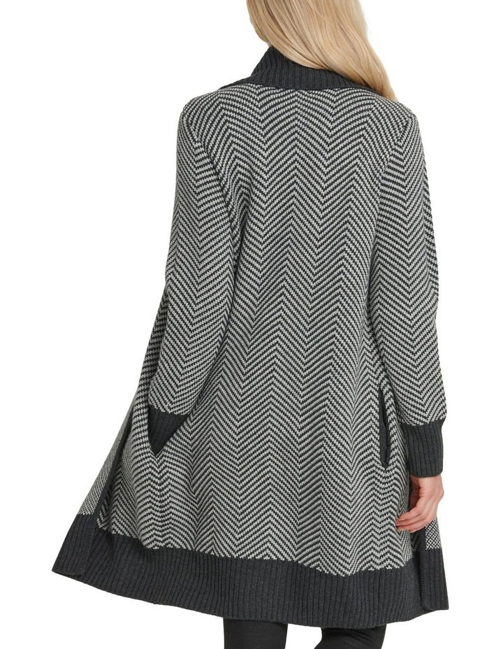 Long Sleeve Open Front Cardigan image 3