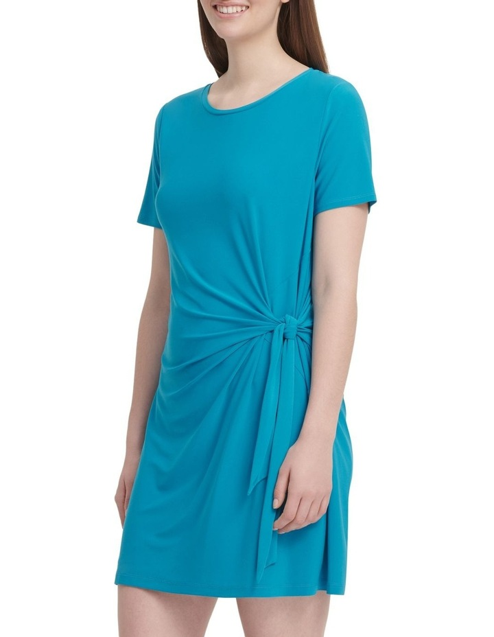 Short Sleeve Dress With Knot Detail image 3