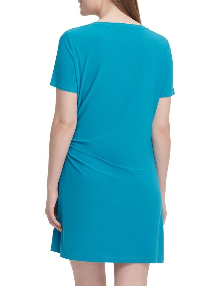 Short Sleeve Dress With Knot Detail image 4