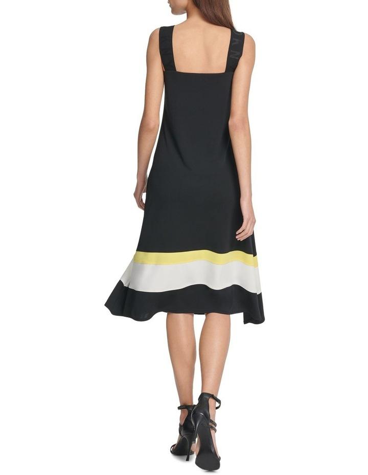Logo Strap Clrblk Dress image 3