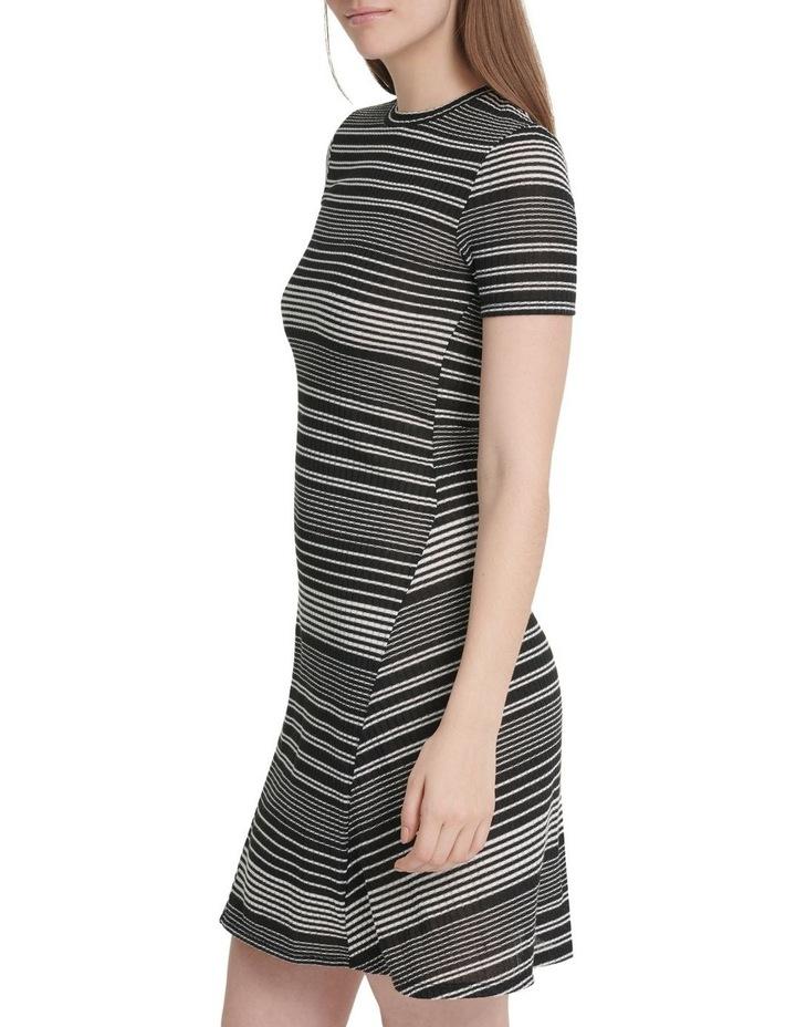 Short Sleeve Rib Dress image 2