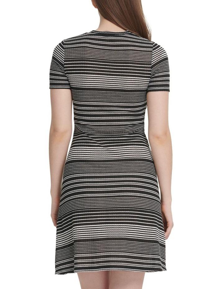 Short Sleeve Rib Dress image 3