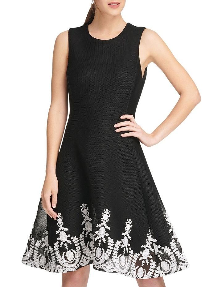 Sleeveless Fit & Flare Dress image 1