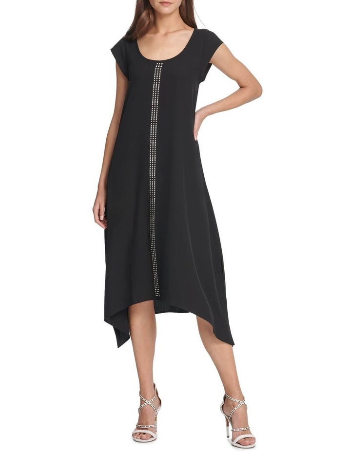 Cap Scoop Neck Dress image 1
