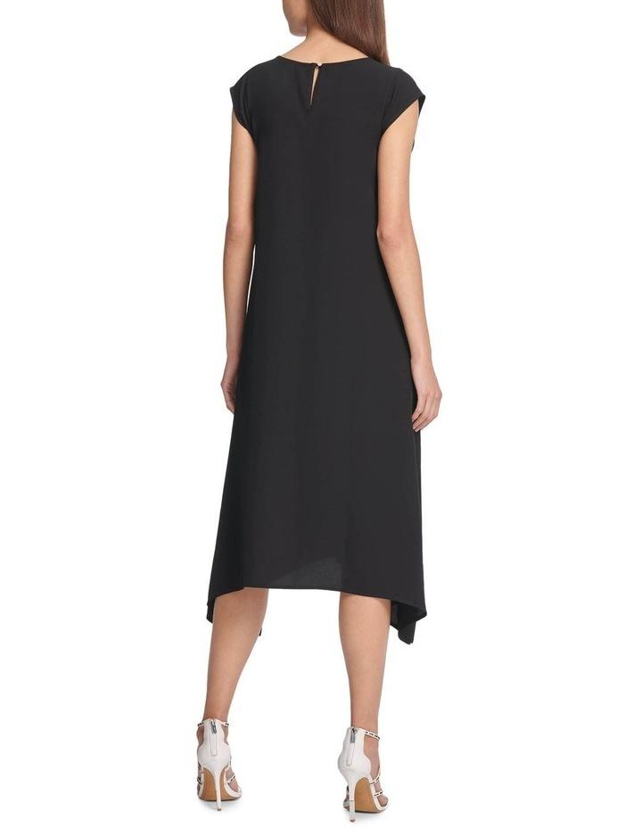 Cap Scoop Neck Dress image 2