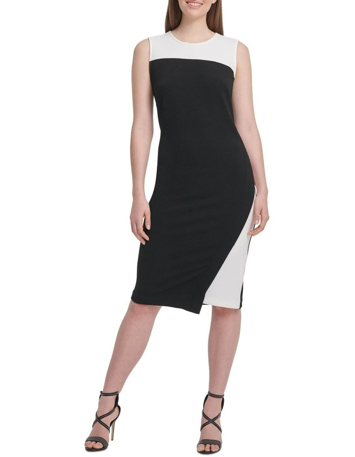 Sleeveless Colorblock Dress image 1