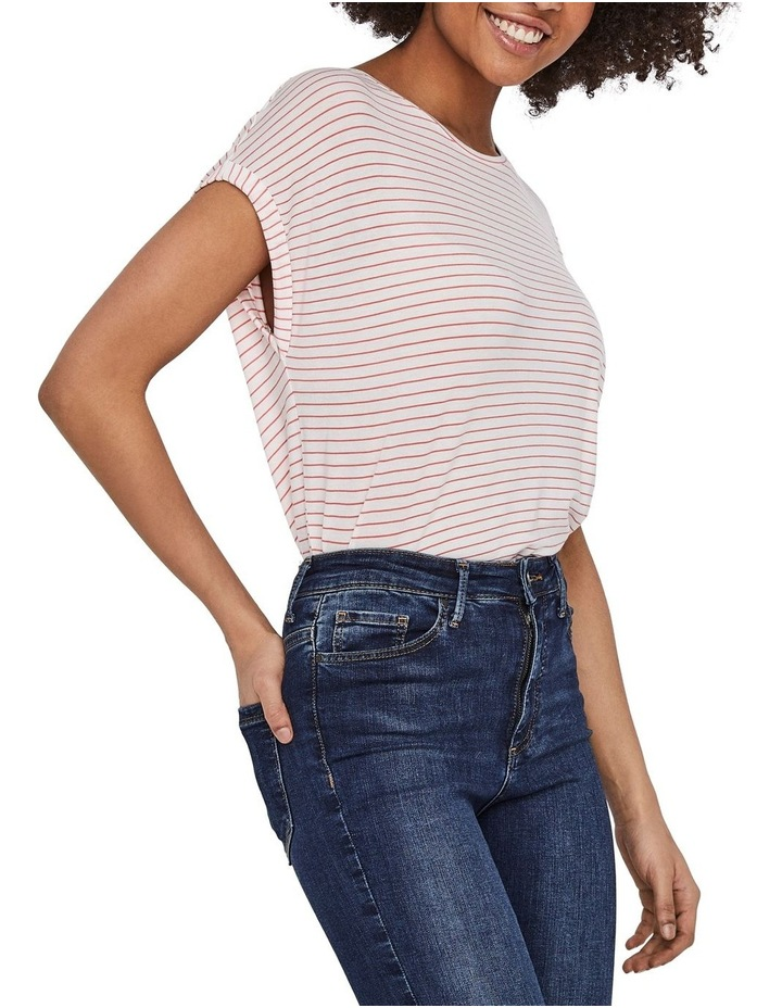 Ava Striped Short Sleeved Top image 1
