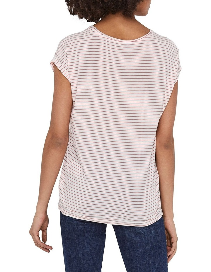 Ava Striped Short Sleeved Top image 2