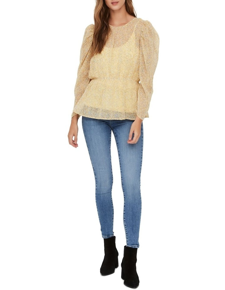Lucia Printed Long Sleeved Blouse image 3