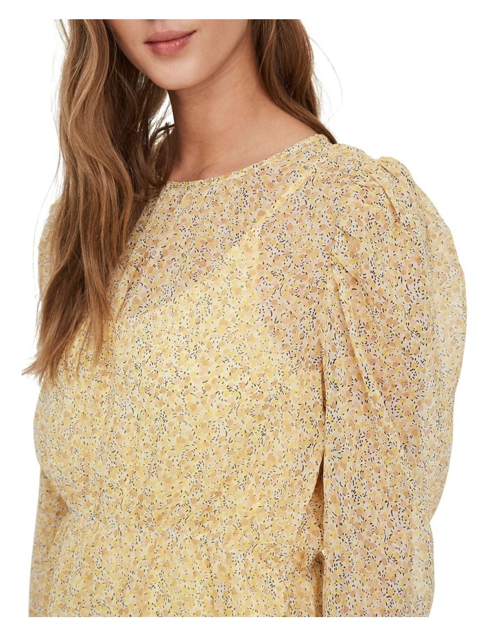 Lucia Printed Long Sleeved Blouse image 4