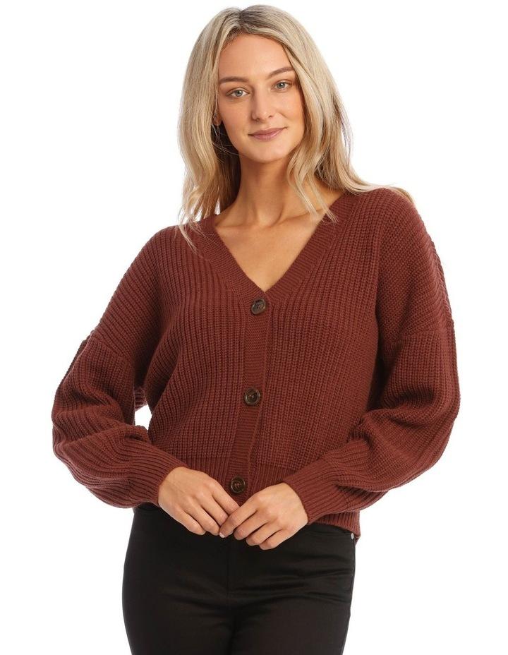 Lea Long Sleeve V-Neck Cardigan image 1