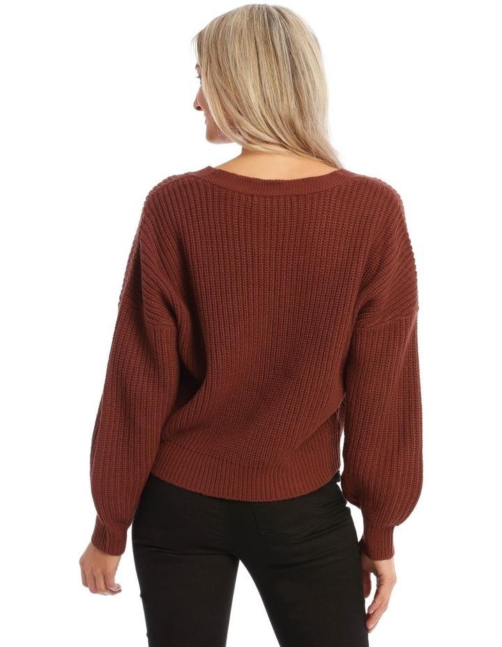 Lea Long Sleeve V-Neck Cardigan image 2