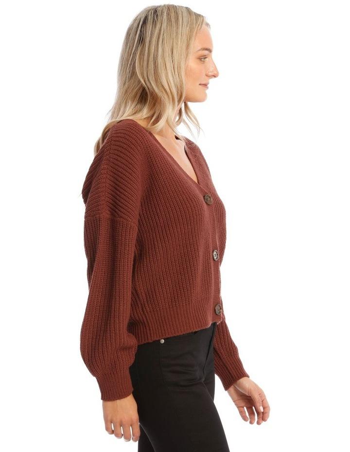 Lea Long Sleeve V-Neck Cardigan image 3