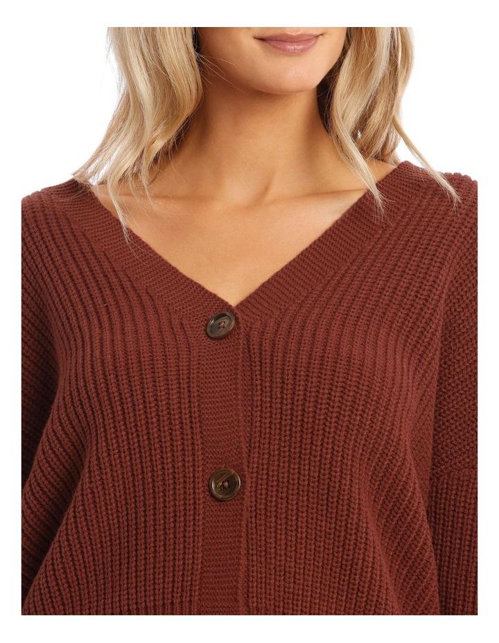 Lea Long Sleeve V-Neck Cardigan image 4