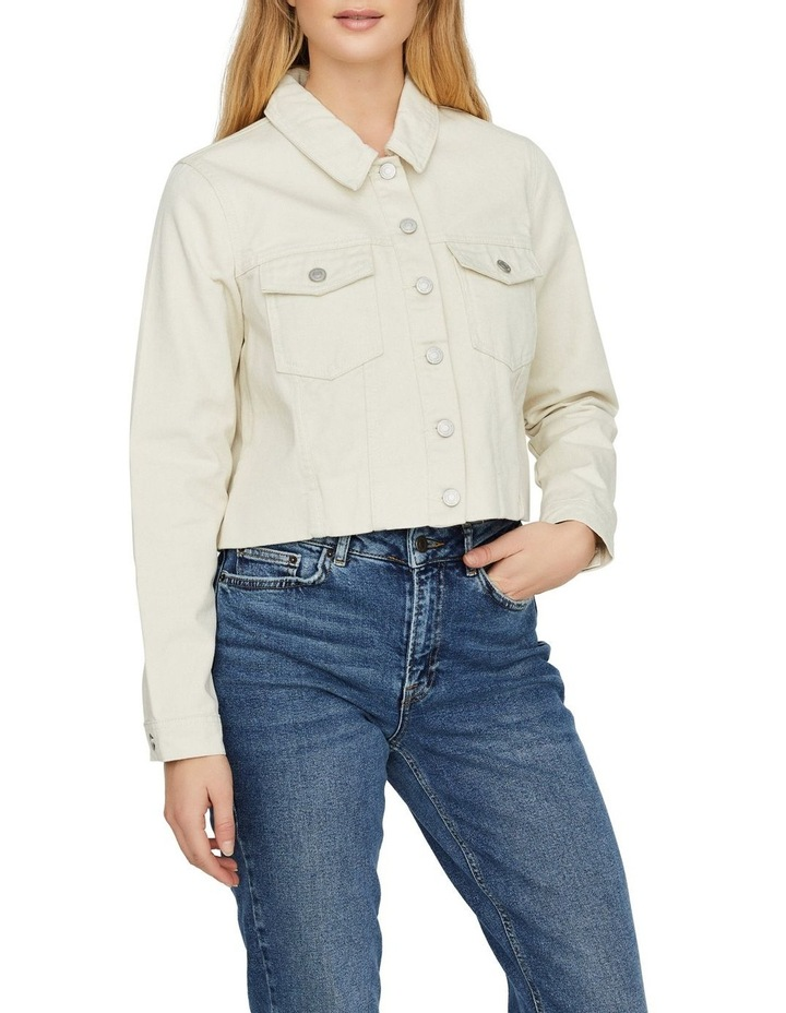 Mikky Cropped Denim Jacket image 1