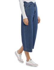Vero Moda - Lisa Scallop Cropped Wide Jeans
