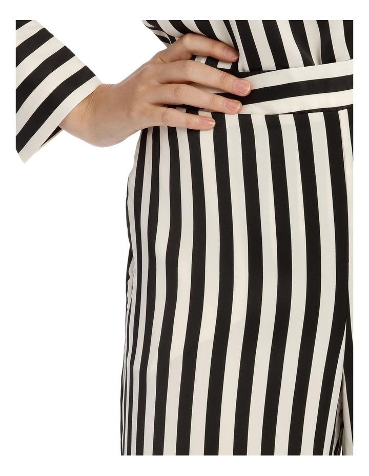 Wide Stripe Pants image 4